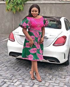 Latest African Dresses Fashion : 2018 Fabulous Styles You Can't Avoid But Rock – Zaine… – African Fashion Dresses - African Styles for Ladies African Wear Dresses, Ankara Short Gown Styles, African Fashion Ankara, Latest African Fashion Dresses, Short Gowns, African Print Fashion, Africa Fashion, African Attire, Ankara Gowns