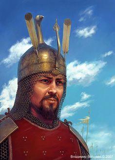 Kirghiz warrior reconstruction