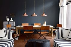 Decorating with dark paint doesn't mean you'll end up with a room of Stygian gloom. In fact the very opposite. Used properly drama and atmos...