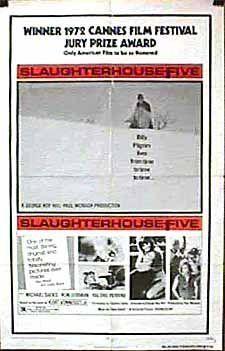 Slaughterhouse Five Winner of the Cannes Film Festival Jury Prize Award Valerie Perrine, George Roy Hill, Slaughterhouse Five, Cannes Film Festival, The Book, Awards, Cinema, Books, Movies