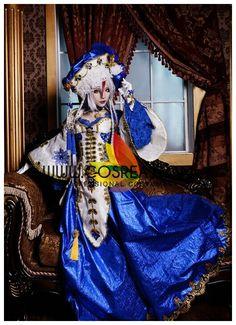 Trinity Blood Astharoshe Asran Cosplay Costume