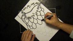 Tegn vindrueklaser med gratis skabelon