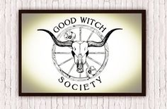 For all you lovely good witches out there !  ☆☆☆☆☆☆☆☆☆☆☆☆☆☆☆☆☆☆☆☆☆☆☆☆☆☆☆☆☆☆☆☆☆☆☆☆  Good Witch Society Poppy Flower Poster Print measures 12x18 or