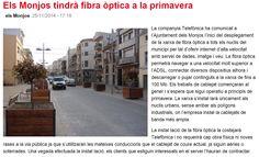 WEBSEGUR.com: LA TECNOLOGÍA NO ACABA DE LLEGAR A CALAFELL