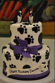 Skøn kage til en hundeejer :-)