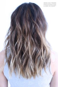 LOVELY MID LENGTH Cut/Style: Anh Co Tran • IG: @Anh Co Tran • Appointment inquiries please call Ramirez|Tran Salon in Beverly Hills at 310.724.8167. #dreamhair #fantastichair #amazinghair #anhcotran #ramireztransalon #waves #besthair2015 #holidayhair #livedinhair #coolhaircuts #coolesthair #trendinghair #model #inspo #midlength #movement #favoritehair #haircuts2015 #besthair #ramireztran #womenshaircut #hairgoals #hairtransformation #Brunette