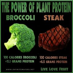 Vegetables do contain protein !
