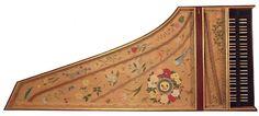 soundboard design from Pascal Taskin, 18th Century France