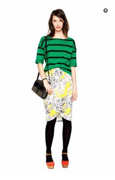 Madewell Fall 2012 lookbook (Fashionista)