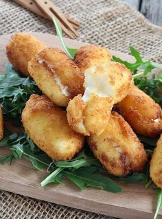 Kiri croquettes – Foods and Drinks Healthy Dinner Recipes, Cooking Recipes, Brunch Recipes, Healthy Meals, Snacks, Love Food, Food Porn, Food And Drink, Easy Meals