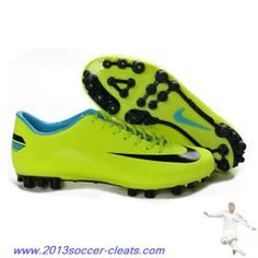 Cheap Nike - Jnr Mercurial Victory III AG Green Black For Wholesale