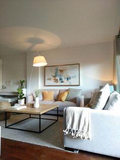 Apartment Interior, Apartment Living, Ikea Living Room, Interior Decorating, Interior Design, Home Alone, Home Decor Signs, Room Colors, Decoration