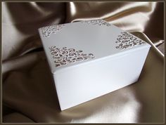 Wedding Card Box Wedding Keepsake Box Shabby Chic by gregolino, €40.30