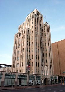 luhrs tower is an art deco skyscraper office building in downtown phoenix arizona completed art deco office building