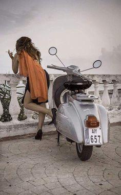 Ciggy break - All things Lambretta & Vespa