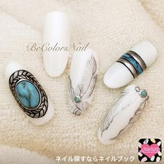 ネイルデザイン人気ランキング|ネイルブック in 2020 Fabulous Nails, Gorgeous Nails, Pretty Nails, Gypsy Nails, Luv Nails, Uñas Fashion, Super Cute Nails, Tribal Nails, Finger Nail Art