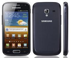 Caractéristiques techniques Galaxy Ace 2  S : Android 2.3.6 (Gingerbread)  Mémoire : 4 Go de stockage intégré, emplacement pour carte microSD (jusqu'à 32 Go) – 768Mo de RAM  Appareil photo : 5 mégapixels auto-focus, détection de visage et sourire, enregistrement HD 720p (1280 x 720) à 30fps  Connectivité : Wi-Fi b/g/ n,  Wi-Fi Direct, DLNA, Bluetooth stéréo 3.0, port microUSB standard, récepteur GPS avec A-GPS et GLONASS, audio jack 3,5 mm, une radio FM stéréo avec RDS  Batterie : 1500mAh
