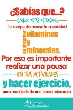 Estrés, pausa y ejercicio