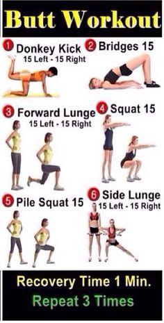 Butt workout!!!!