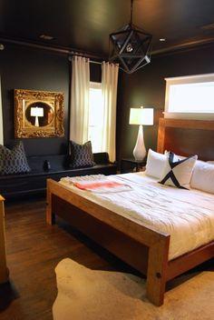 Alison & Derek's Atlanta Home in Shades of Black & White