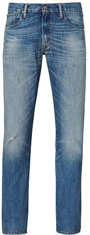 Always on the hunt for the perfect denim. @PoloRalphLauren Varick Slim Straight Jean