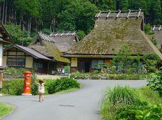まるで日本昔話のよう。京都・美山かやぶきの里へ【カヒミ カリィの Wherever I go】