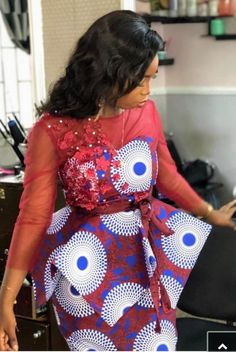 Contemporary Ankara Styles For African Ladies. Hello Ladies Is an Amazing month and we bring you some beautiful designs to start your month,Ladies here are 2020 Contemporary Ankara Styles For African Ladies To Rock. African Print Dress Designs, African Print Dresses, African Print Fashion, Latest African Fashion Dresses, African Dresses For Women, African Attire, Ankara Fashion, African Lace Styles, Ankara Styles