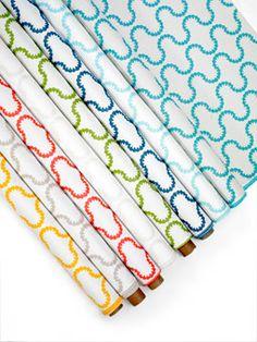 Doug & Gene Meyer designed outdoor  fabric called Drop In for Link Outdoor.