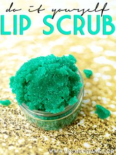 DIY Lip Scrub [ Gonna Try This, With My Next Pay Check :) ]
