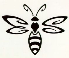 Bee tattoo with our names hidden in it...B M S E