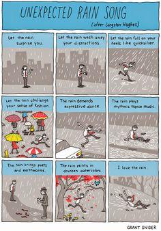 INCIDENTAL COMICS: Unexpected Rain Song