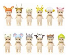 Buy Sonny Angel: Animal Series 2 (Assorted) at Mighty Ape Australia. All figures are randomly packaged in blind boxes. Sonny Angel, Cute Little Baby, Little Babies, Baby Lullabies, Pink Cheeks, Kewpie, Animal 2, Parakeet, Washi Tape