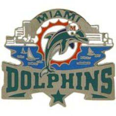 "NFL Miami Dolphins Star Pin 1 1/4"" by FindingKing. $9.99. This is a new NFL Miami Dolphins Star Pin 1 1/4"""