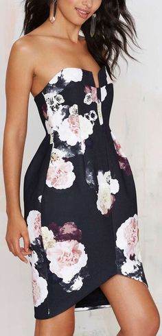 Sweetheart Floral Dress ❤︎