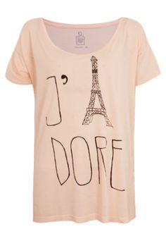 Blusa Shoulder Paris Nude - Compre Agora | Dafiti