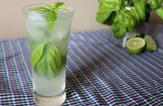 Limonade vodka & basilic #cocktail, #drink