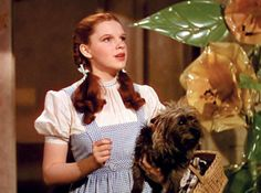 Judy Garland as Dorothy in Wizard of Oz (1939)