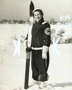 Ski outfit, St. Paul Winter Carnival, 1937