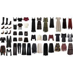 Strega capsule wardrobe pt 1