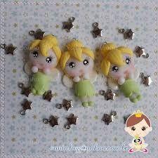 Resultado de imagem para biscuit tinkerbell clay