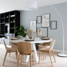 Best Interior, Interior Styling, Interior Design, Living Room Wood Floor, Living Room Decor, Living Rooms, Dinning Table, Dining Chairs, Dining Area