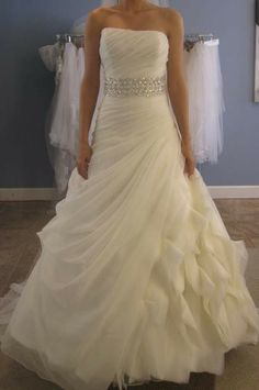 Enzoani Enzoani Fabi Size 14 Size 8 Wedding Dress