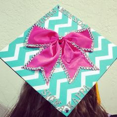 Want to do this to my cap for graduation but with pearls!