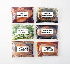 Six Healthy Chicken Marinade Recipes For Easy Dinners — Andianne Fajita Chicken Marinade, Chicken Marinades, Chicken Fajitas, Chicken Recipes, Oven Chicken, Oats Recipes, Recipies, Dishes Recipes, Grill Recipes