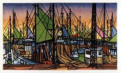Japanese Art by the artist Clifton Karhu   Scriptum Inc