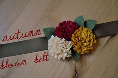 I Am Momma - Hear Me Roar: Autumn Bloom Belt