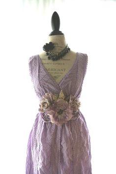 Pretty Summer vintage Shabby chic dress
