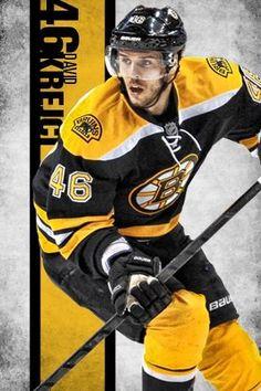 Boston Bruins center David Krejci #myman