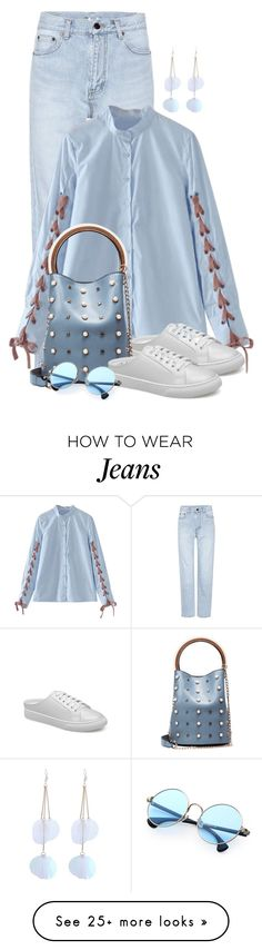 """Untitled #2193"" by ebramos on Polyvore featuring Yves Saint Laurent"
