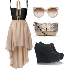 Going Out, created by dmk333 on Polyvore